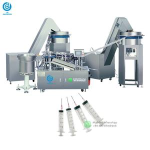 Automatic Disposable Syringes Assembling Machine