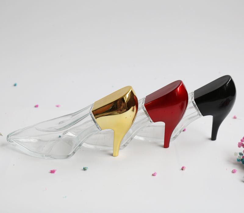 Ontdek de fabrikant Hoge Hak Schoen Vorm Glazen Parfumflesje