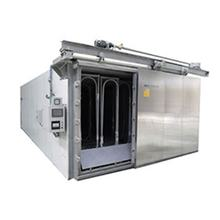 PLC double door mushroom substrate bag steam sterilizer autoclave price