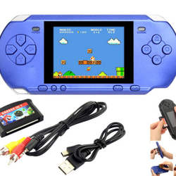 16 Bit Portable Video Game Handheld Console + 318 Games Retro Megadrive PXP3 PVP