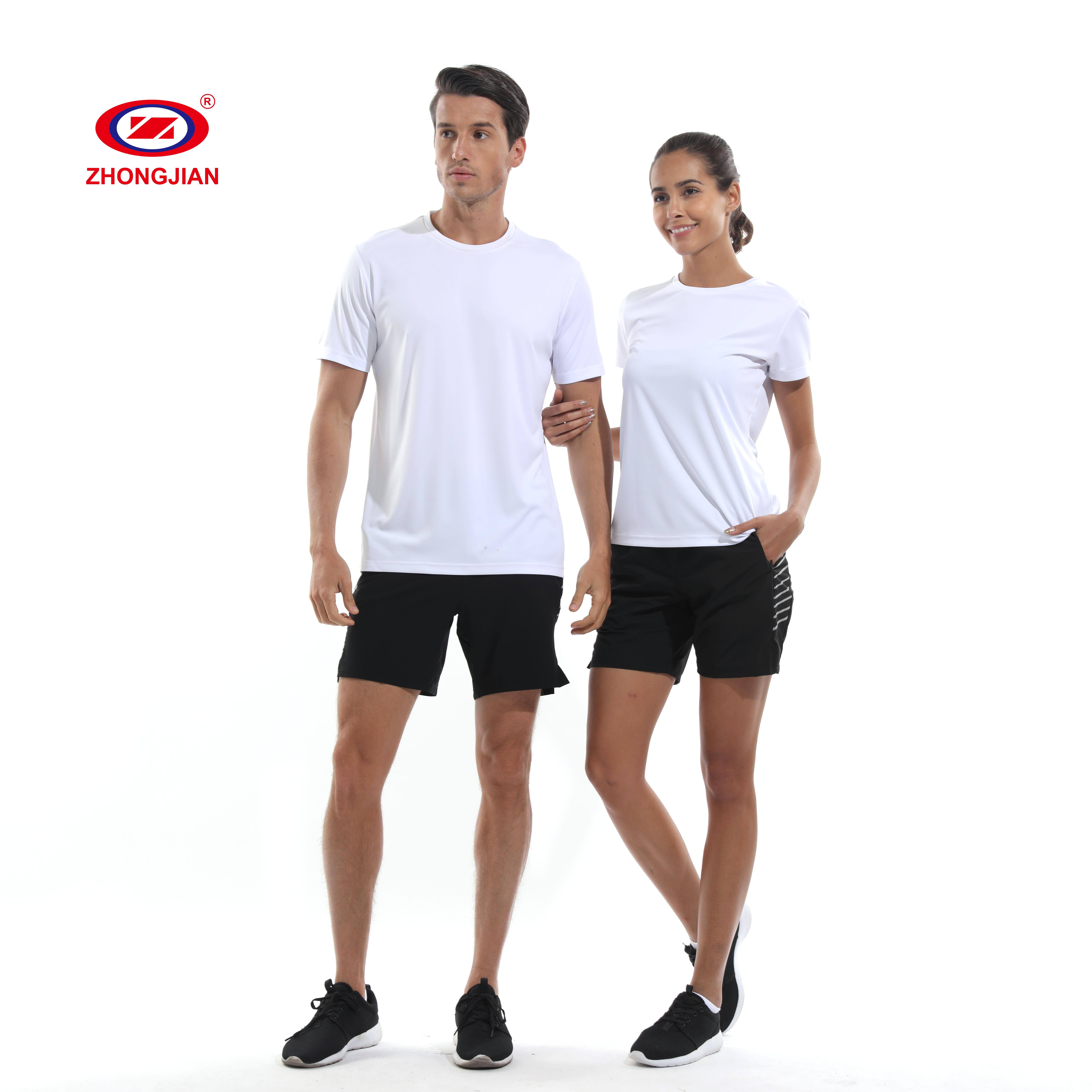 tennis running wear casual men's t-shirts compressed push up top sport shirts