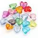 wholesale clear heart shape Acrylic Beads For DIY Jewelry Accessory