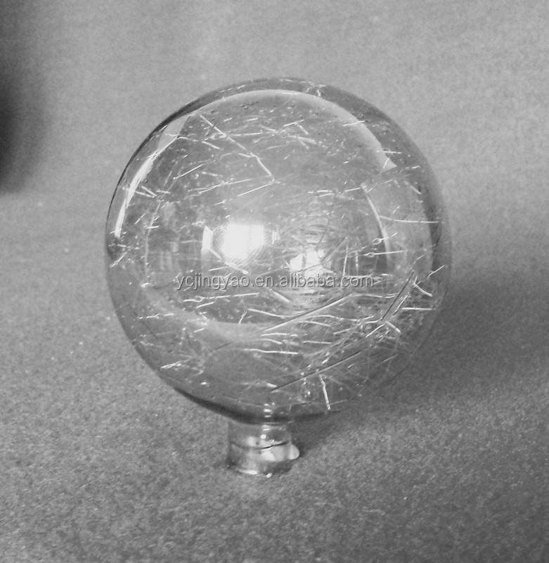 small smoked glass crystal effect globe lampshades/ orb ball dunelm