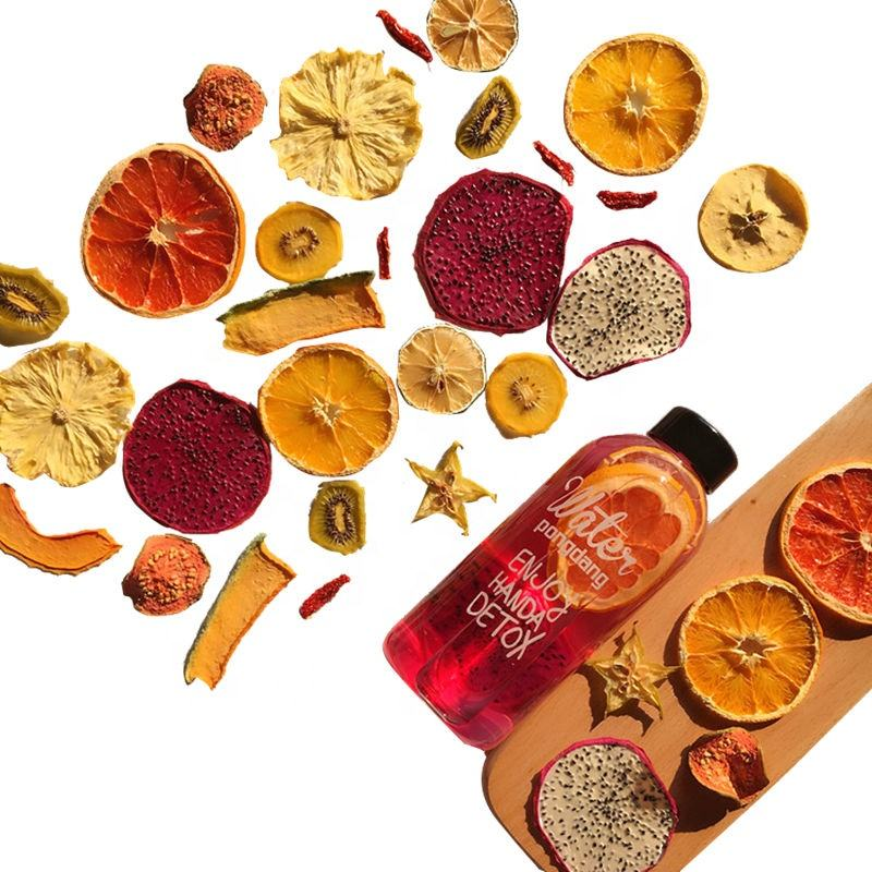 Hand Made Custom Fresh Dried Natural Fruit Blended Hand Made Fruit Slices Tea Beauty Tea