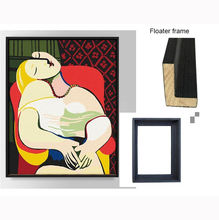 Picasso painting artwork with frame abstract hotel wall art decoration