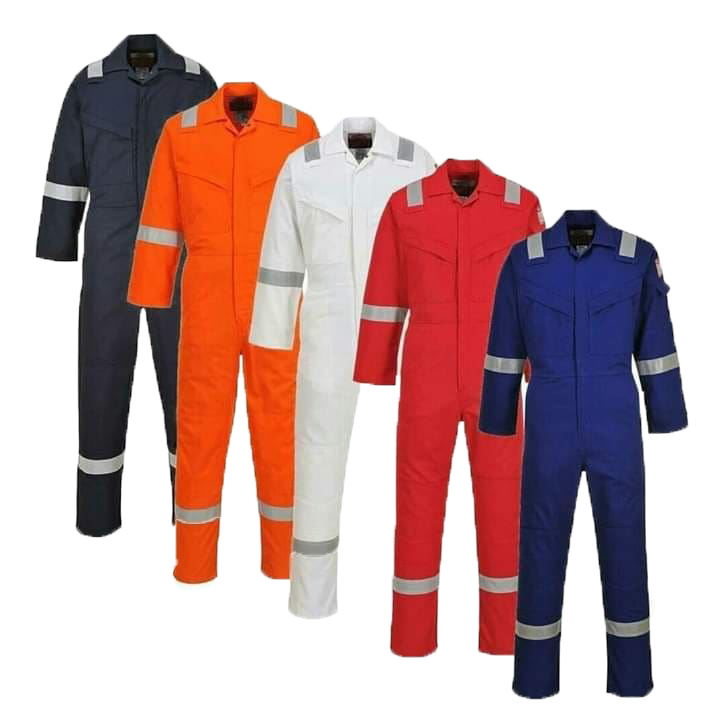 Manufacturer Wholesale Flame Retardant Coveralls