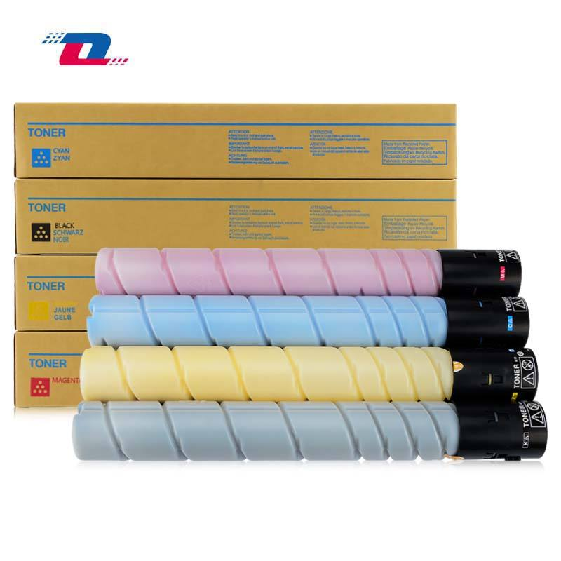 New compatible TN321 toner cartridge For Konica minolta bizhub C224 C284 C364 C224e C284e C364e 4pcs/set(BK,C,M,Y)