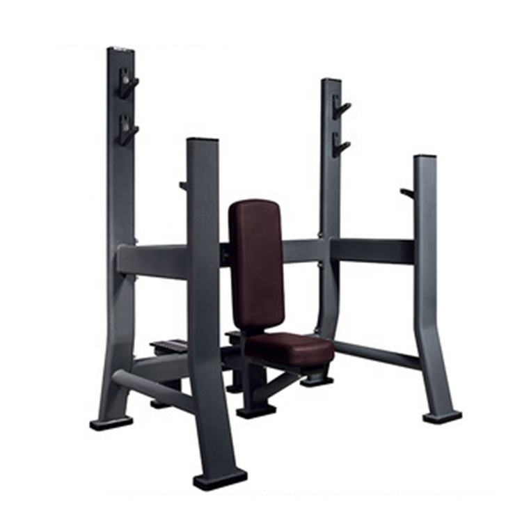 wholesale muscle training commercial fitness seated flat bench power rack gym equipment