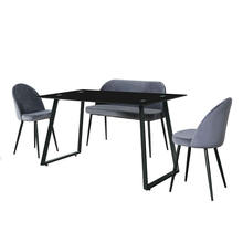 Wholesale China Outdoor Office Furniture Coffee Table Cafe Dining Table and Chair