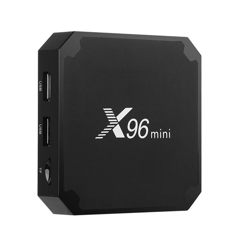 X96 Mini S905W 2 GB 16 GB TV BOX Android 7.1 Quad Core Smart Media Player WIFI 4 K voor sample