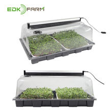 Wholesale Start Growing System Seeds Nursery Plastic Microgreen Seedling Plant Growing Hydroponic 1020 Trays Propagation