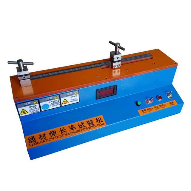 Factory Sales Metal Wire Elongation Tester With Reasonable Price by Glomro