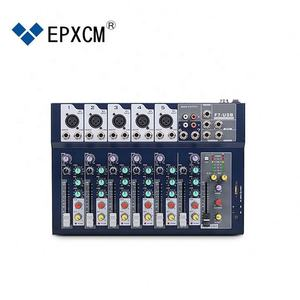 OEM/ODM Digital Audio Console Mixer 7 Channel Professional