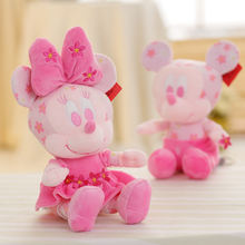 2019 New Toy Arrivals Wholesale Stuffed Cherry Blossoms Soft Minnie Mickey Mouse Plush Toy
