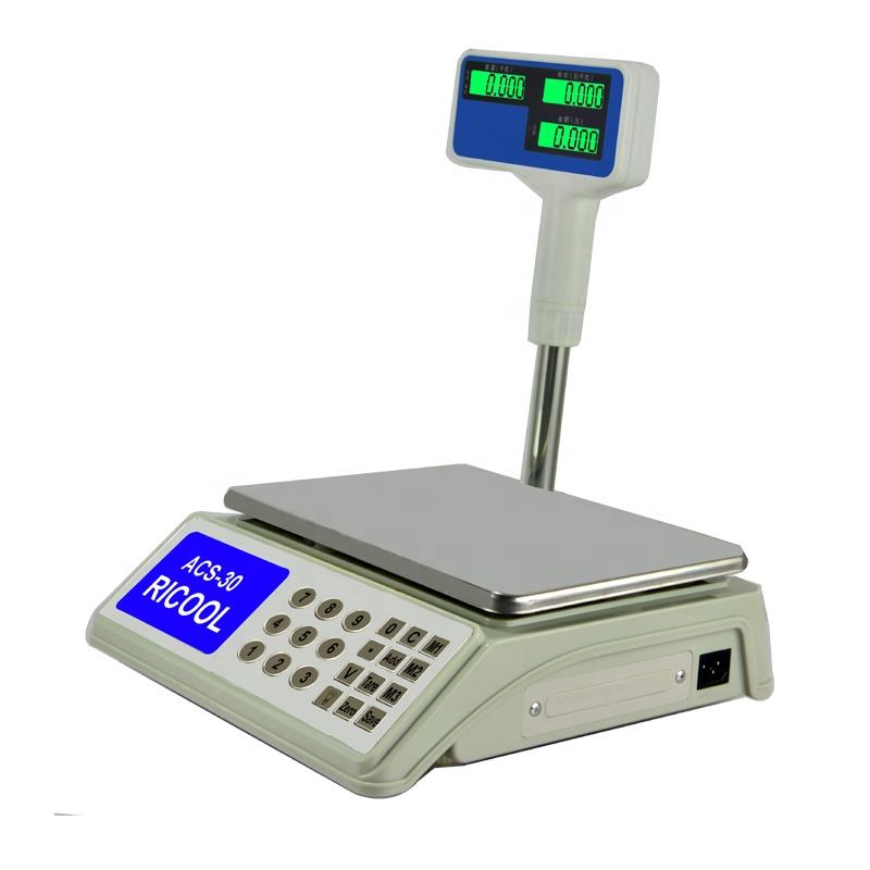 30kg economic digital weighing balance electronic 30kg balance scale