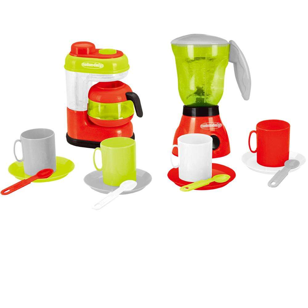 Wholesale plastic kitchen toys cheap kitchenware play set