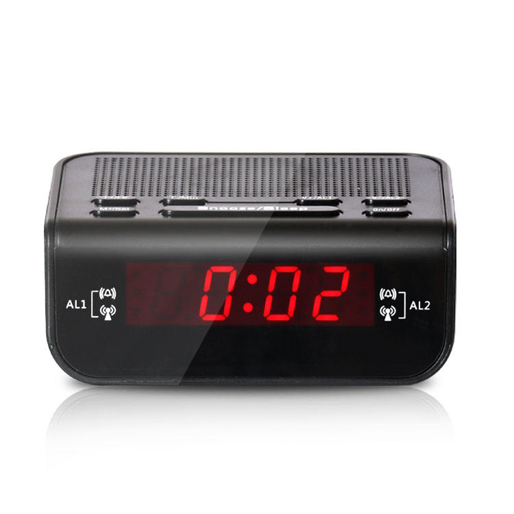 High Quality Newest Products Promotion Fm Radio Household Fm Radio With Clock