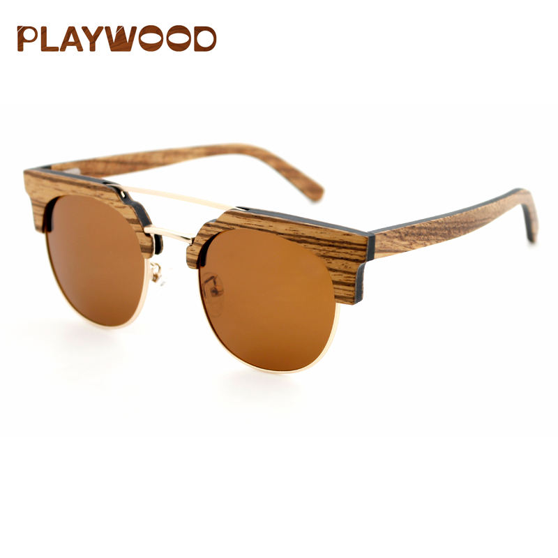New products lentes de sol bamboo shades sunglasses private label wood polarized sunglasses