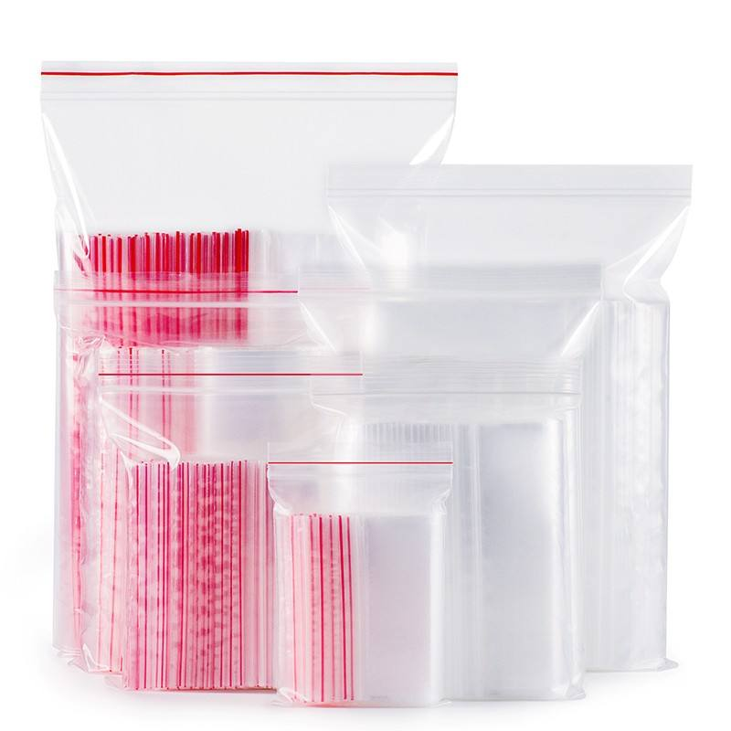 small clear ldpe zip lock poly zip bag pe zip close bag/reseal poly pe packing bag/plastic reclose zipper bag