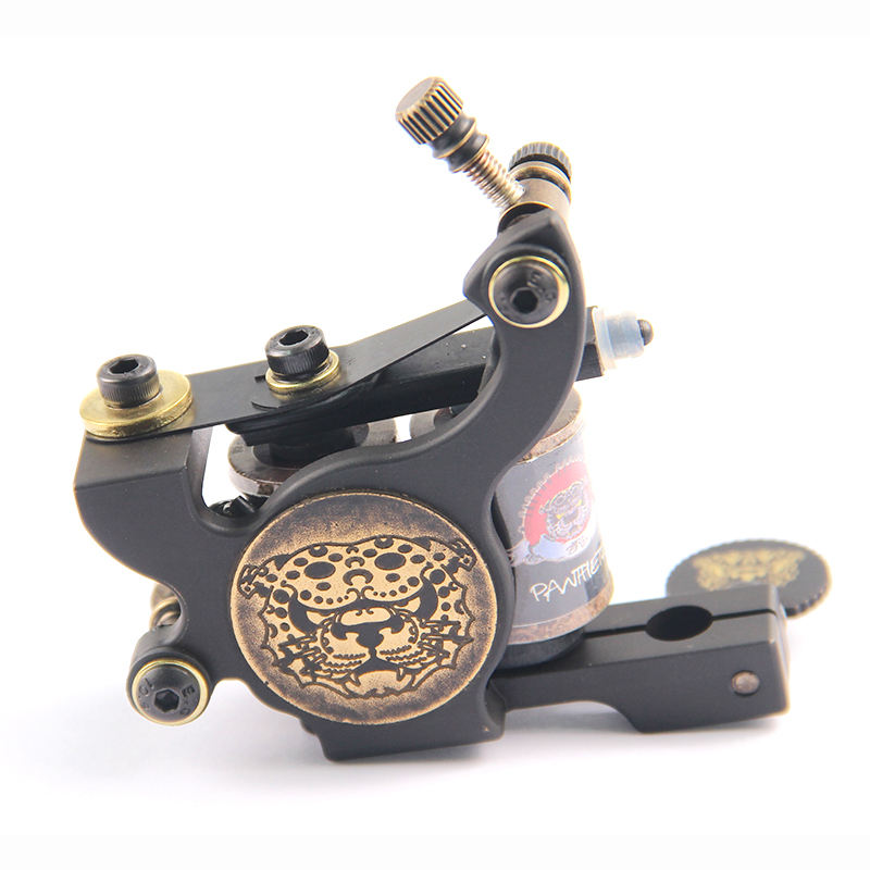 Professionele Tattoo Coil Machine Gun 10 Wrap Rotary Tattoo Machine Frame