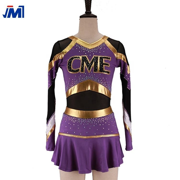 2019 Meisje Cheerleading Fancy Dress Outfit Vrouwen Uniform High School Kostuum ONS
