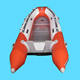 High quality pvc / hypalon rigid hulled inflatable rip rafting boat