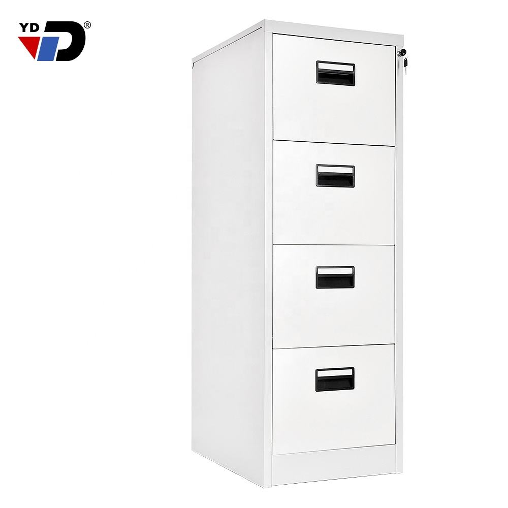 China factory manufacturer office furniture 4 drawers vertical steel filling cabinet