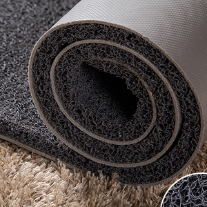 pvc coil thin roll rubber foam floor mats /High end low price customized noodle mat rolls