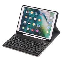 For iPad Air 3 2019 Wireless Keyboard Case with Pencil Clip 10.5 inch
