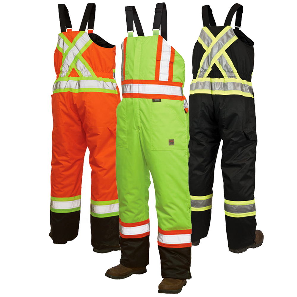 EN11611 Reflective Work Wear Uniform Safety Work Bib Overall