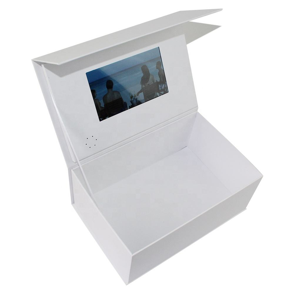 "Customized 2.4''/2.8''/4.3'/5""/7'/10'' Lcd Screen Video Brochure Card Box"