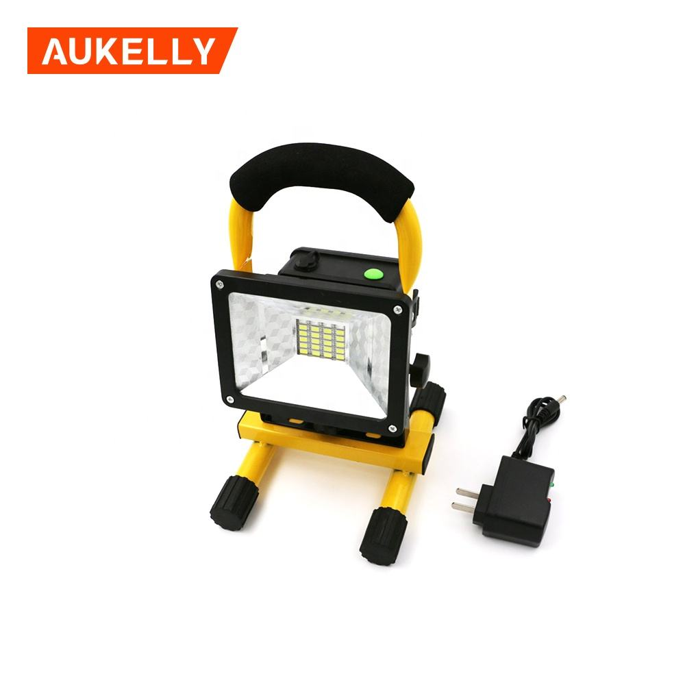 Aukelly New Product IP65 rechargeable led worklight 30w USB Charging LED work light Site Light