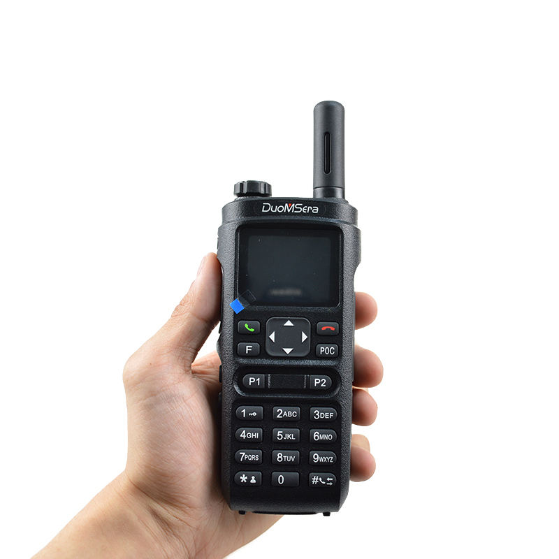 850MHz 900MHz 2100MHz long distance 500km 3g sim card interphone gsm wcdma walkie talkie 4g lte mobile phone with gps
