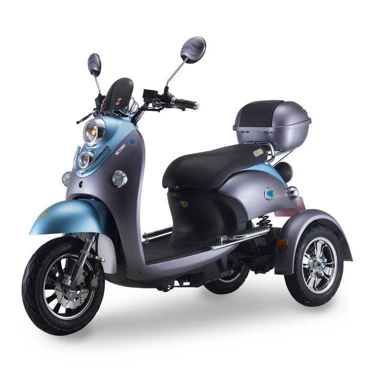 Чжэцзян 3 три колесный трехколесный велосипед <span class=keywords><strong>500</strong></span> Вт 800 Вт трехколесный скорость 40 км-50 км EEC 3 колесный электрический мотоцикл