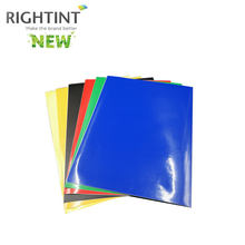 Hot sell Self Adhesive Color PVC Film for Screen printing