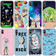 CYPC-001 Rick And Morty Funny Cartoon Phone Case For iPhone 8 8Plus X 7 7Plus XR Xs PU Case Support Custom
