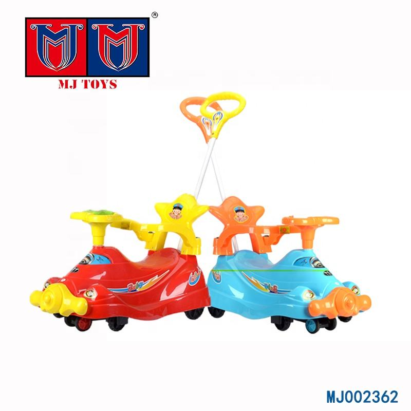 Wholesale baby wiggle ride cars kids with fashion handspike