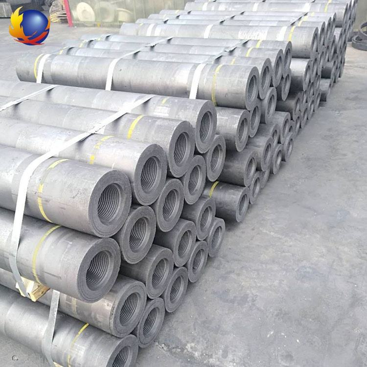 HP UHP graphite electrode 200~700mm carbon graphite used mainly in ladle furnaces