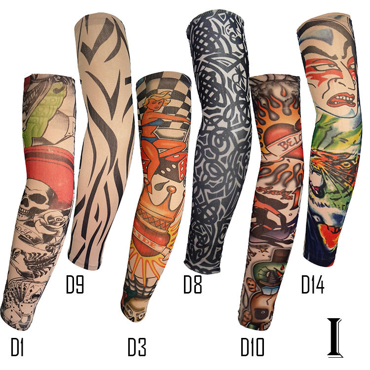 Look Real Tattoo Arm Sleeves for Men Body Art Tattoo