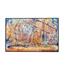 Hot selling hand painted oil custom large abstract painting