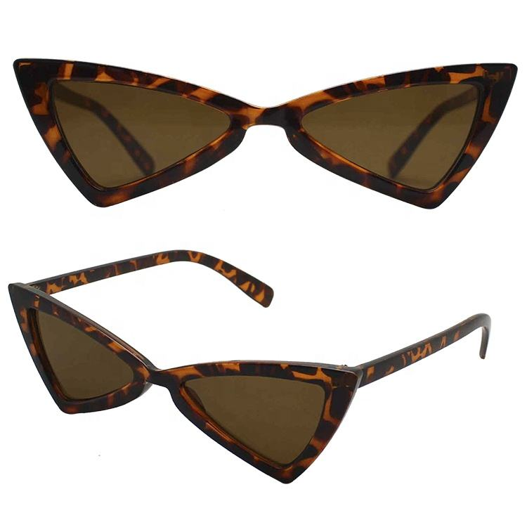 Mejor venta Vintage elegante triángulo de <span class=keywords><strong>la</strong></span> moda nueva llegada gafas de sol