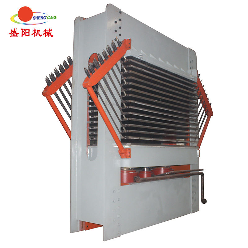 manual plywood making machine of veneer plywood dryer hot press