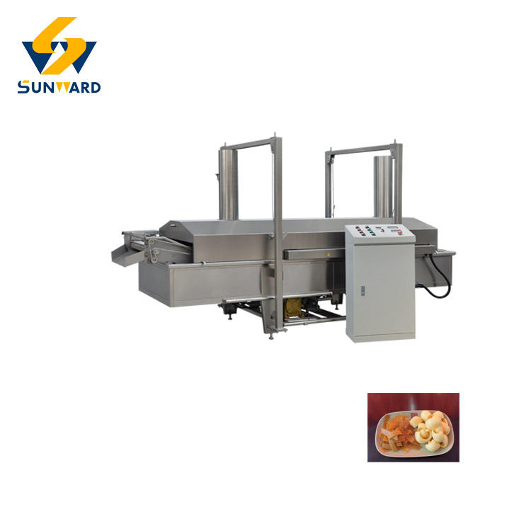 Full automatic Extruded Fried Snack Food 3D Wheat Flour Panipuri Making Machine