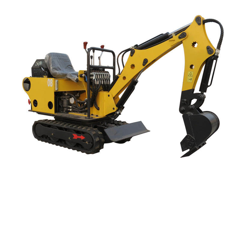 China hydraulic small excavation machine 0.8ton crawler excavator