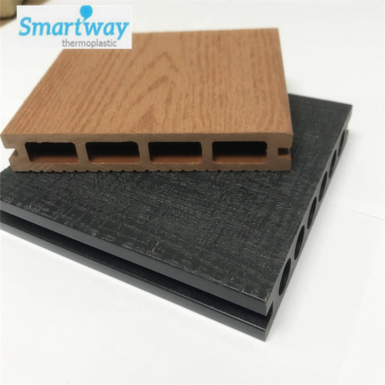 China Factory WPC Outdoor Flooring Wood Plastic Composite Parquet Decking