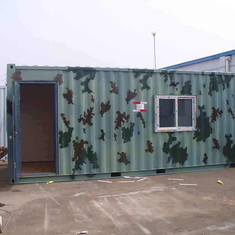 Warehouse monolayer workshop modern prefabricated container houses