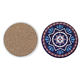 Round Shape and New Classical/Post-modern Style Absorbent Coaster