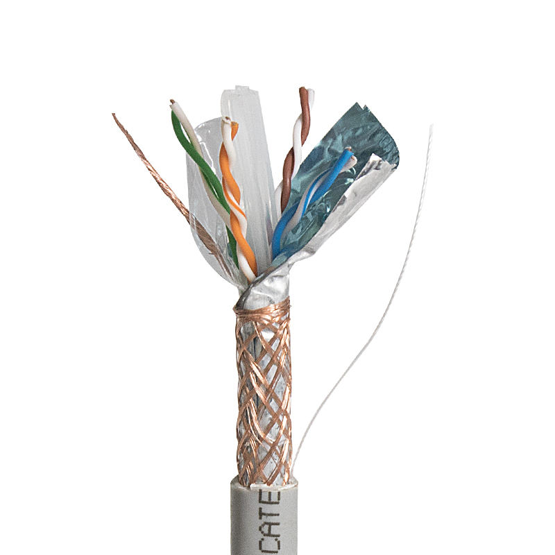 Kingmaking kabel <span class=keywords><strong>Cat6</strong></span> SFTP 23AWG kupfer 4 pairs 305 M einfach pull box