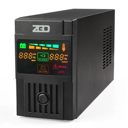 LCD display line interactive ups power supply single phase 1.5kva ups High performance for computer ups