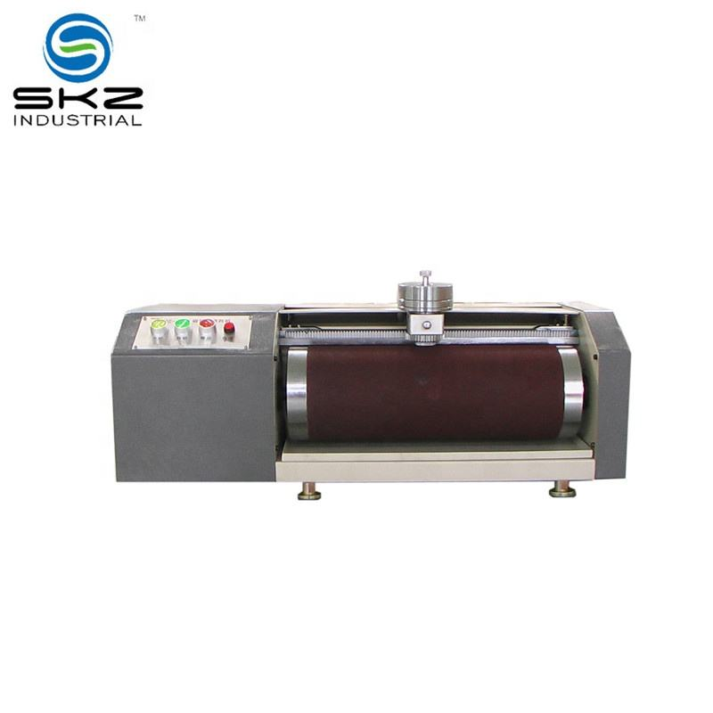 high quality vulcanized rubber DIN friction tester machine ISO4649, DIN 53516